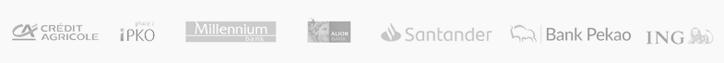loga banków - płatności online